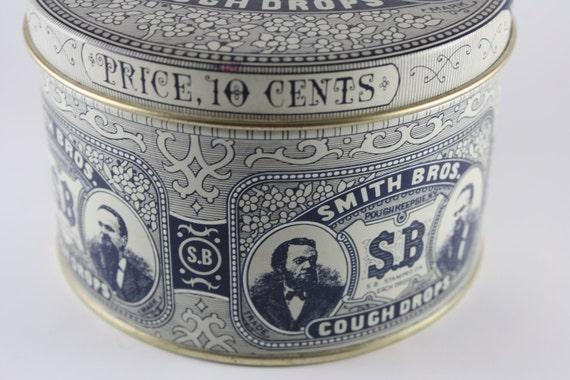 Tin Smith Bros. Cough Drops