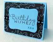Happy Birthday Card -  Handmade Card