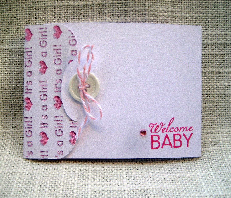 similar to handmade baby girl gift card holder baby shower gift card