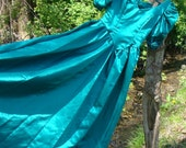 Vintage 80s Prom Dress/Bridesmaids Gown - size small