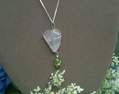 Sterling Silver Seaglass Necklace
