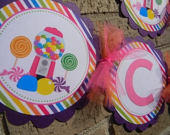 Candyland Sweet Shoppe Banner