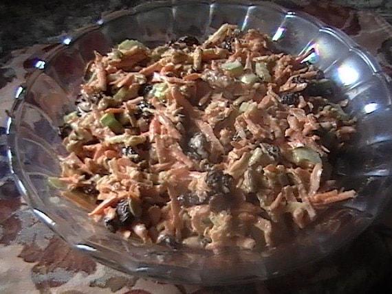 Make your own vegan carrot raisin salad deluxe a tasty raw make your own vegan carrot raisin salad deluxe a tasty raw food recipe pdf instant download forumfinder Gallery