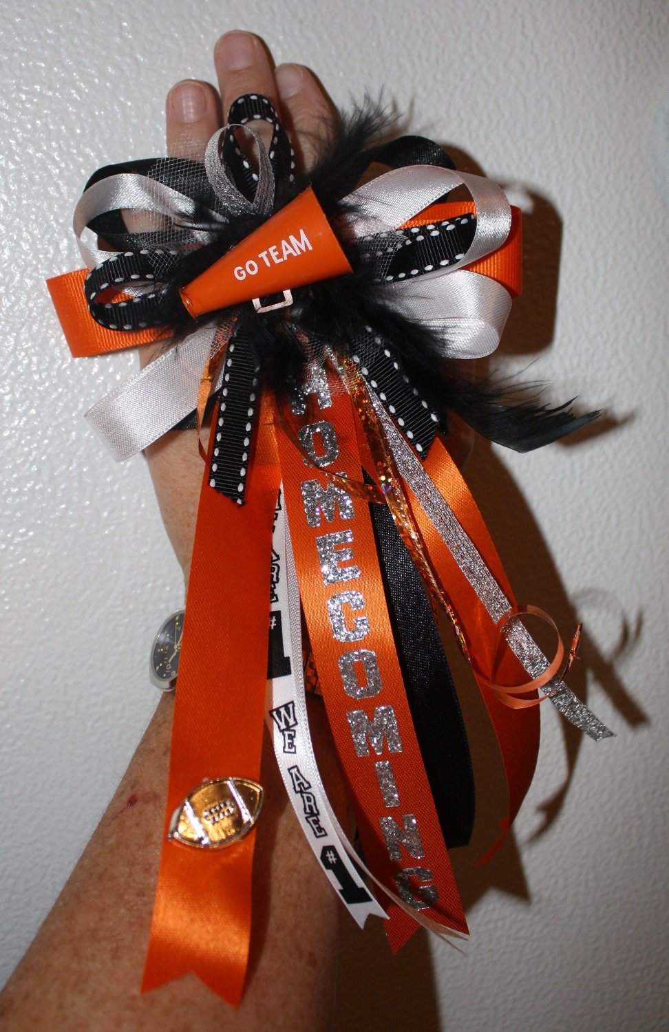 pictures homecoming mum ideas - Home ing Finger Mum by KrazydayzeeCreations on Etsy