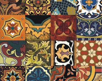 Mosaic Moroccan Artistic Tile Mural Back Splash