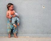 Kids Harem pants with elastic waist - CUSTOM ORDER