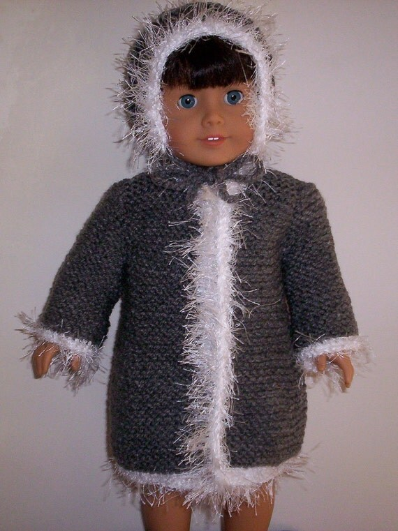 American Girl coat and hat