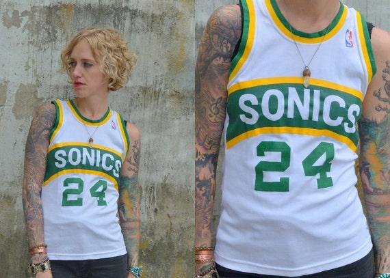 Rare 70's Seattle Super Sonics Spencer Haywood Basketball Jersey