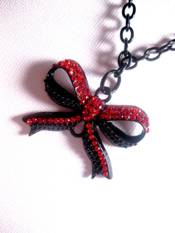 Buy low price, high quality red bow necklace with worldwide shipping on hereuloadu5.ga