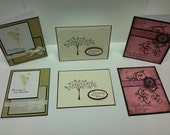 Set  of 6 Sympathy Cards