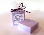 Lavender Shea Butter Soap Handmade with Lavender Essential Oil - Relaxing