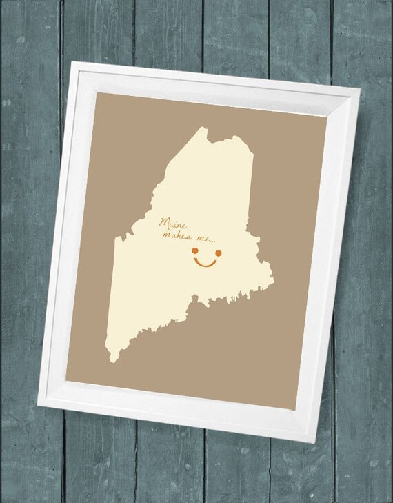 Reserved Listing for  Mike Razim   Customized State or Country Print - 11x14