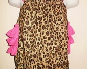Cheetah Bubble Romper Ready To Ship Sz 12m