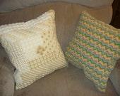 Neddlepoint Pillows Ready to Ship