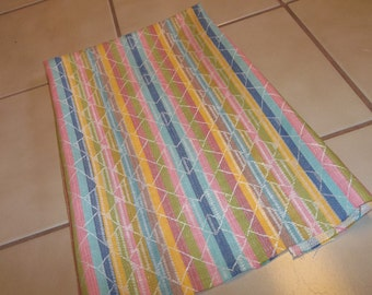 Vintage Linen Towel Yardage..Great Quality... Texture...Brand New...French Kitchen... 3 Yards.like manglecloth