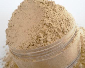 Foundation Makeup  Pale Bare Neutral Vegan Natural Limited Ingredients  Large 30g SifterJarLight Fair Sensivtive Skin Powder Medium Coverage