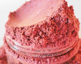 STUPID GIRL Pink Eye Shadow Shimmer  Rose Mineral Makeup EyeShadow  Duo Chrome Color Shift  Eye Shadow Vegan  deep pink Natural Eyeliner