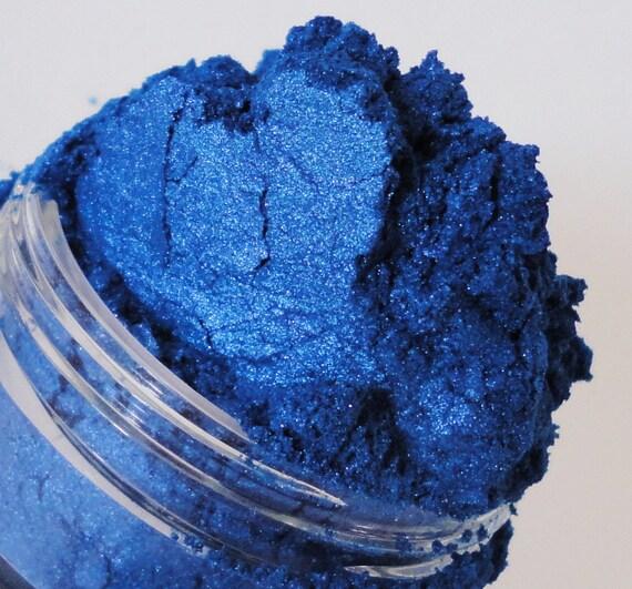 Siren  Mineral Makeup Eye Shadow  10g Sifter Jar Blue Eyeshadow