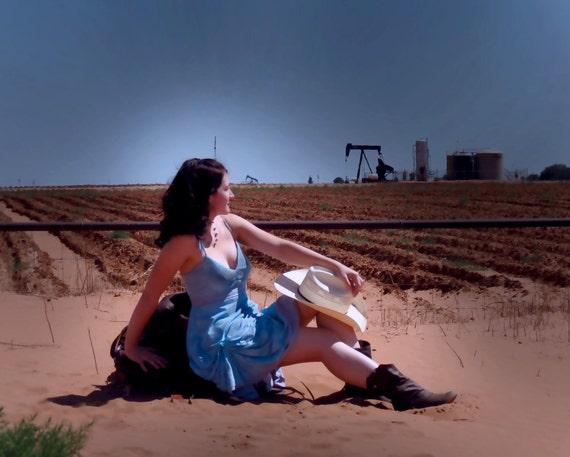 Draped Paisley Sun Dress