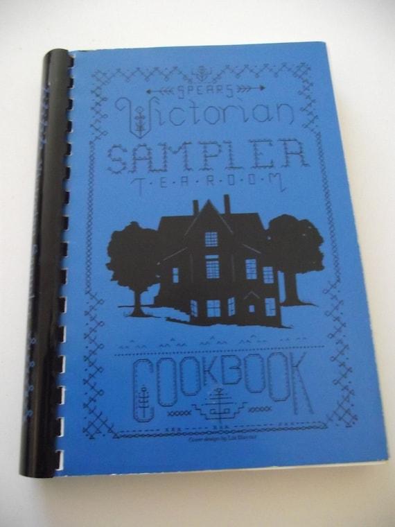 Vintage Cookbook Victorian Sampler Tea Room - Eureka Springs AR spiral bound