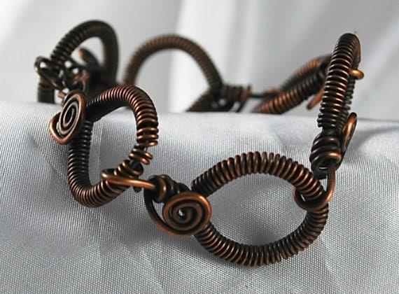 Copper Bracelet Copper Links