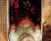 Marat Sade Original Painting