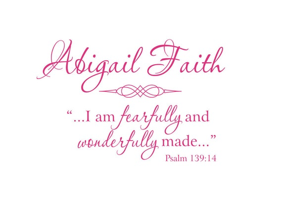 Items Similar To I Am Fearfully And Wonderfully Made
