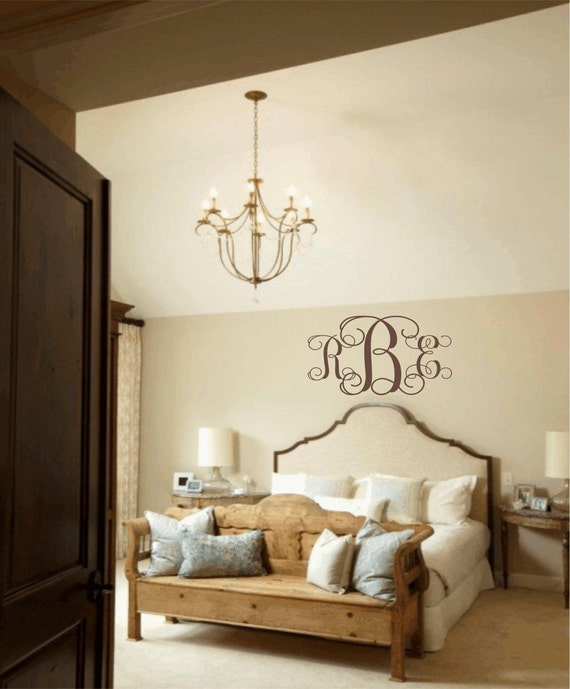 Items Similar To Master Bedroom Wall Decal Personalized