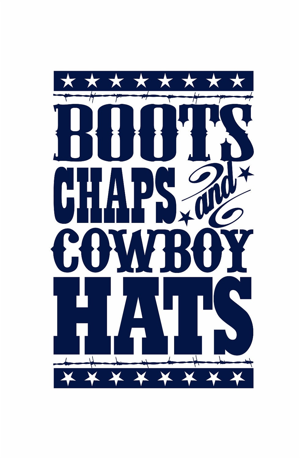 Cowboy wall decal boots chaps cowboy hats western by wallartsy for Cowboy wall mural