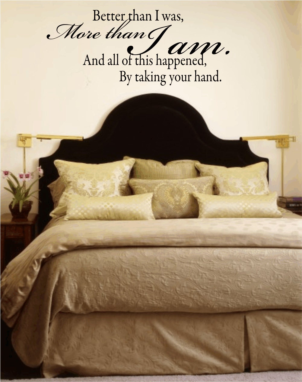 Wall Decal Quote Better Than I Was More Than I Am By Wallartsy