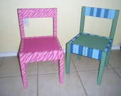 Handpainted Toddler Chairs