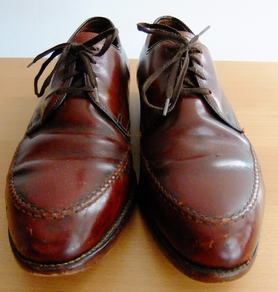Sale - Trashed Ludwig Reiter Cordovan Oxford Dress Shoes - Men's Size 9