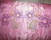 Flowers and Borders Machine Embroidery Designs - 5x7 & 6x8