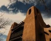 Santa Fe, New Mexico Adobe - 8 x 12 Fine Art Photograph - LIMITED EDITION 1 OF 20 - Art for the Heart Home Decor