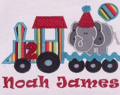 Zoo Train Birthday Shirt, Boy Animal Train Birthday Shirt, Train Birthday Shirt, Girl Train Birthday Shirt