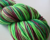 Mardi Gras: Self Striping Superwash Sock Yarn