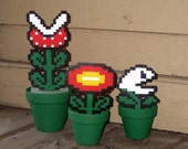 Set of 3 Mario Plants