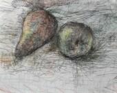 Pear Sketch
