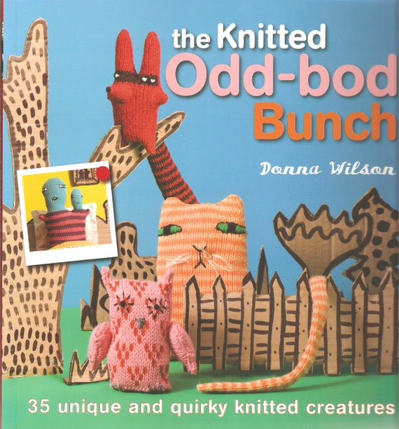 Knitting Animals Book : Knitting patterns strange monster creatures amigurumi funny