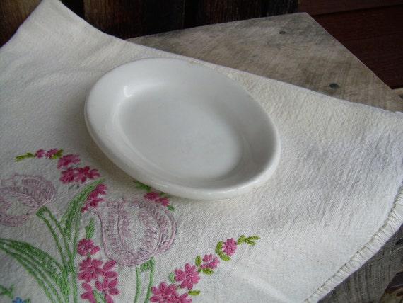 Antique W.E.P. Co  China Hotelware Plate