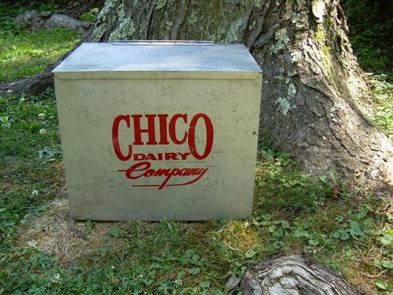 Galvanized Insulated Chico Dairy Milk Cooler Box - Morgantown WV