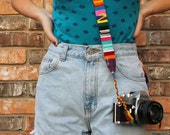 Guatemalan Tribal Cotton Belt/Camera Strap