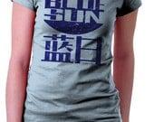 FREE SHIPPING Blue Sun T-Shirt