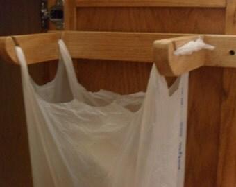 Eco-friendly Trash Sack Holder. Made to Order.