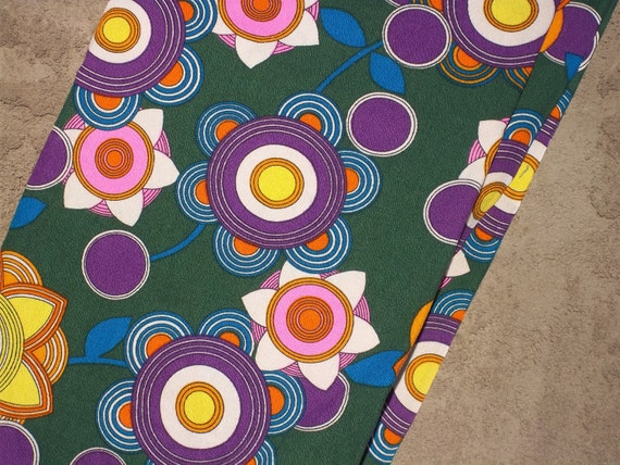 Vintage Floral Fabric (2 yards) RESERVED FOR CHANCES'