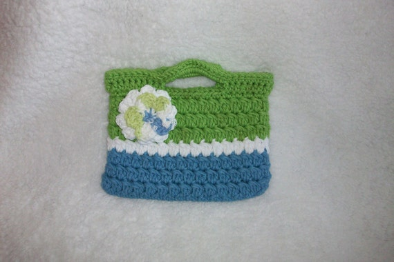 Purse For Little Girl Great Gift.Crochet by pinkney on Etsy