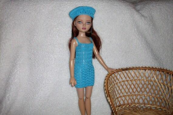 Dress Set For Ellowyne Doll Crochet