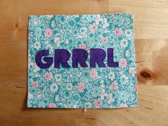 GRRRL patch