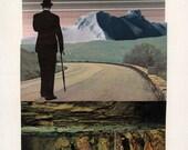 Vicissitude. 7x9 Print of Original Collage.