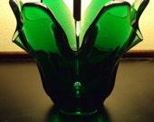 Retro Green Vase